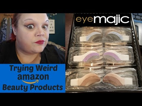 Trying Weird Amazon Beauty Products
