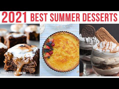 The Boldest & Best Summer Dessert Recipes of 2021