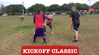 2017 Kickoff Classic Flag Football Tournament Highlights