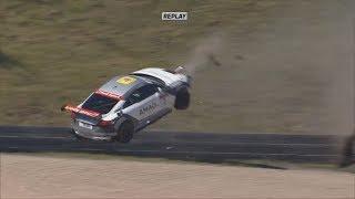 Audi Sport TT Cup 2017. Race 2 Nürburgring. Finlay Hutchison Huge Crash thumbnail