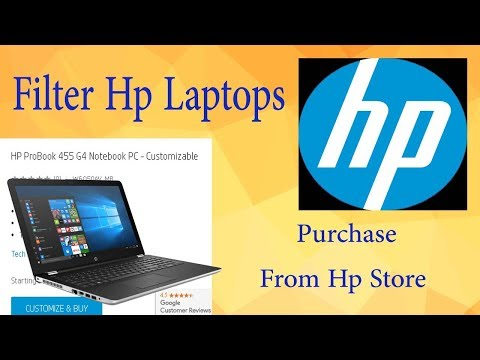 How To Buy HP Laptop Online Hp Laptops Categories With English Voice