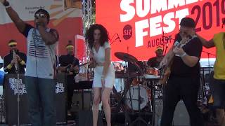 Urban Renewal Project Band: Mix Music San Jose, CA  Jazz Summer Fest  8/9/2019
