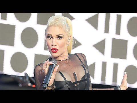 Gwen Stefani Flaunts Major Cleavage in a Sultry, Sheer Outfit -- See Her Performance Ensemble!