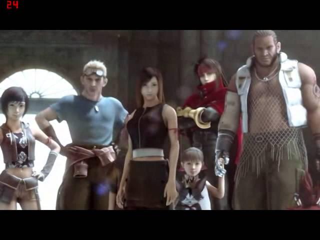 Final Fantasy 7 Advent Children Ending Youtube