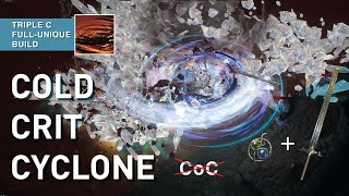"""【Cold Crit Cyclone】-Cheap & """"Beginner-Friendlier"""" than CoC // Full-unique Spin2Win Assassin 3.15"""