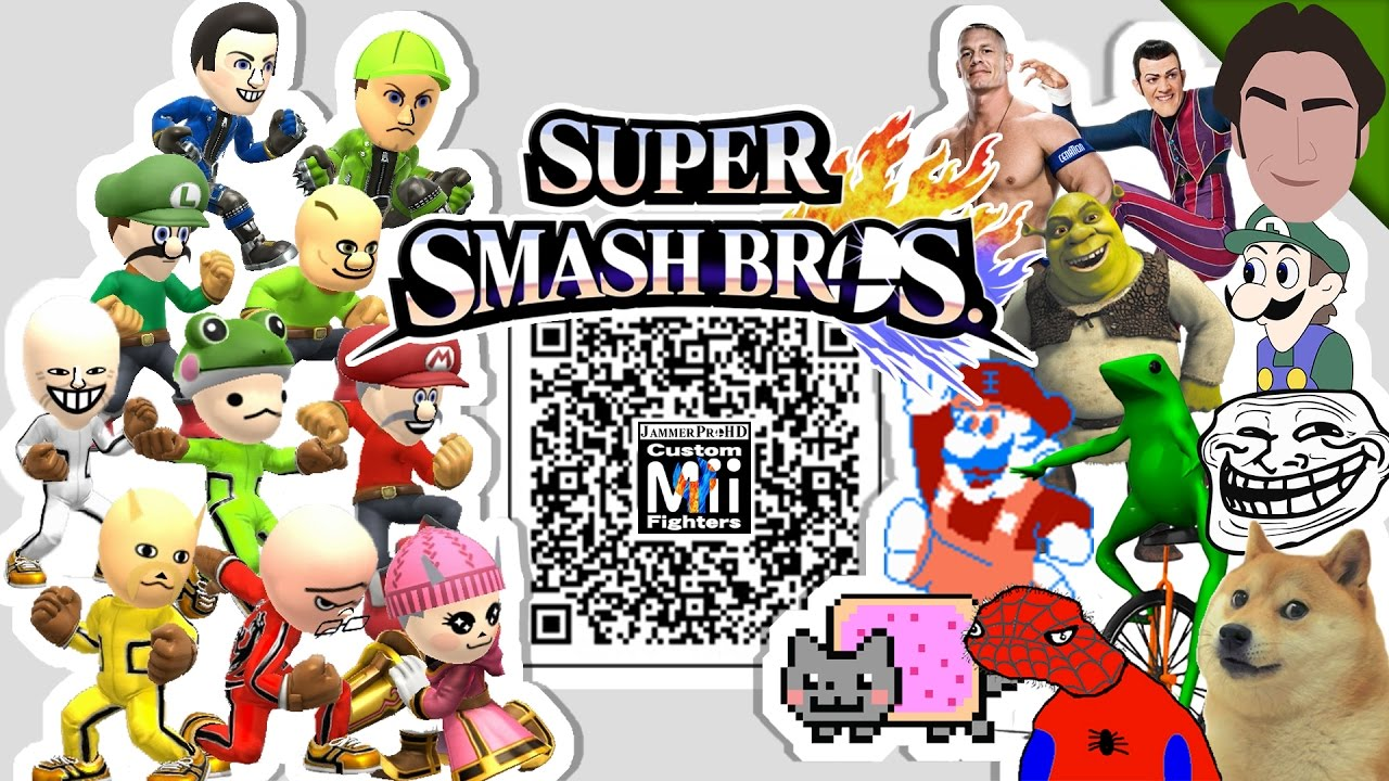 maxresdefault robbie rotten, john cena, weegee, & more! meme custom mii fighter