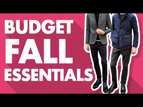 Best Budget-Friendly Men's Fall Essentials For 2019