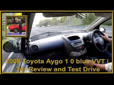Virtual Video Test Drive In Our Toyota Aygo 1 0 blue vvt i 3dr 2008