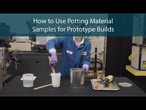 How to Use Potting Material Samples for Prototype Builds