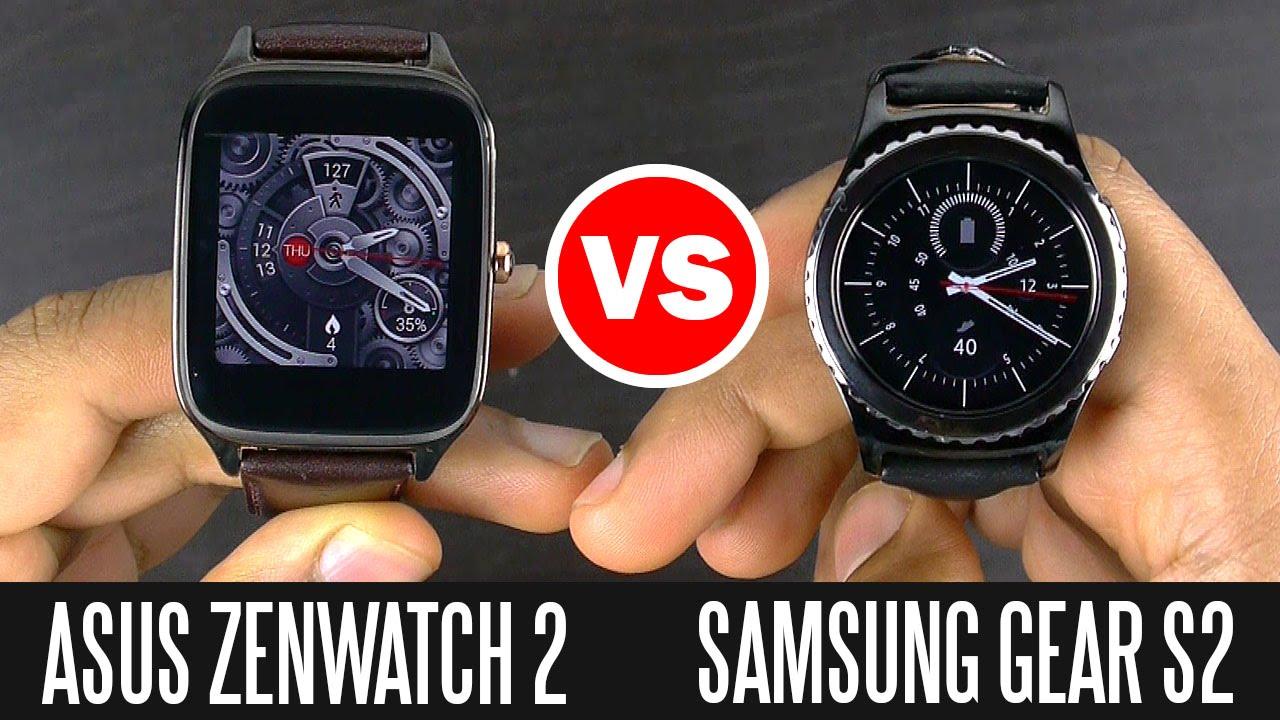 Samsung Gear S2 vs Asus ZenWatch 2