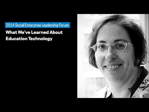 Social Enterprise Leadership Forum: What We've Learned About Education Technology