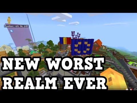 I Found The NEW Worst REALM EVER (MCPE / Bedrock Realms)