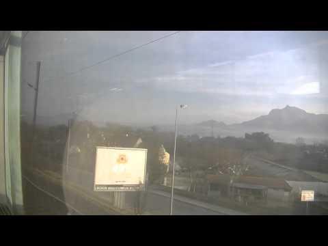 trajet de Toulon à Marseille