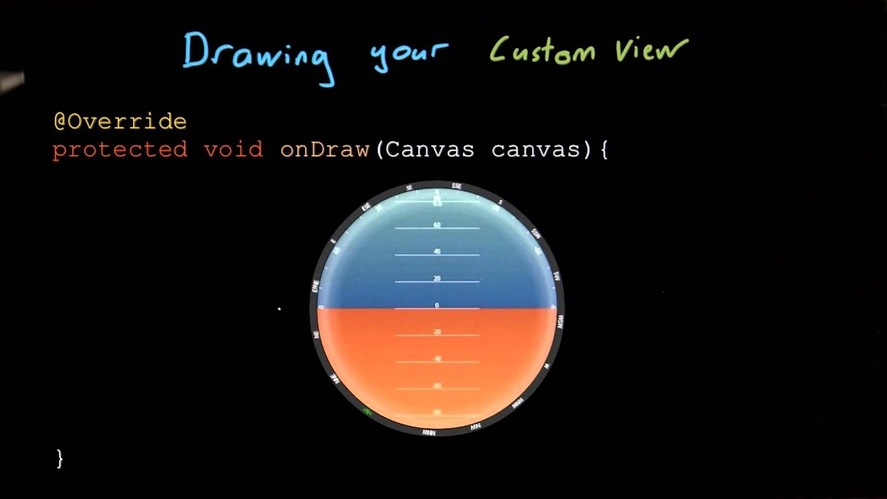 Draw Your Own View - Developing Android Apps