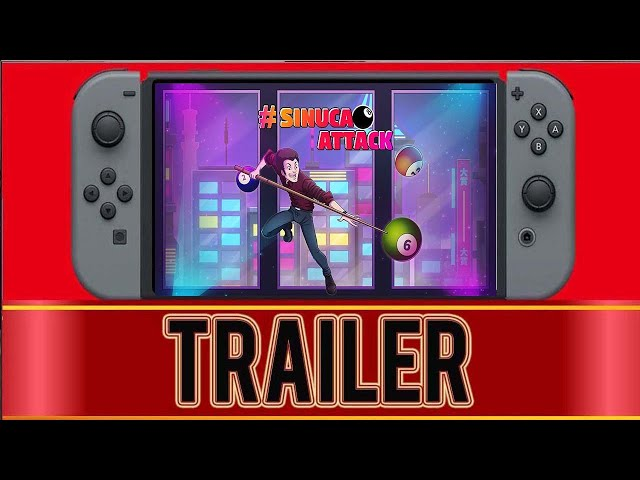 #SinucaAttack Trailer PS4, Xbox One, Switch xgpmZZRiEoE