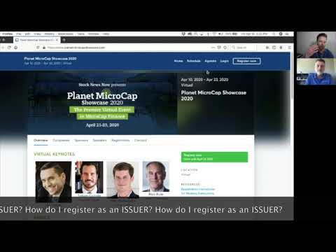 How to Participate in the Planet MicroCap Showcase Virtual Investor Conference 2020