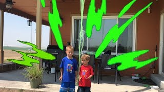 What's in the Box? SLIME Challenge-Girls Vs Boys!