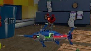 Lego Movie Videogame - Golden Instruction Build #9 - Octan Swordfish