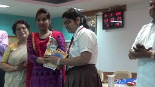 Celebration of  Hindi Diwas 2018 by Bank of India at Agrasain Balika Siksha Sadan