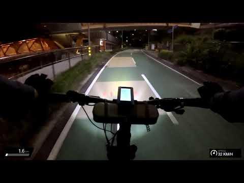 Evening Commute on eBike - Full, unedited ride
