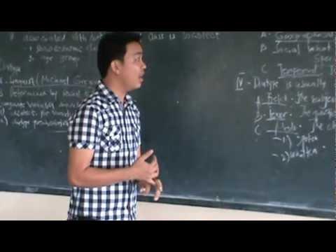 Stylistics: Language Variation