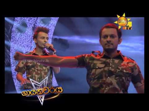 Hiru Mega Stars Singing Performance Aryans Team 2