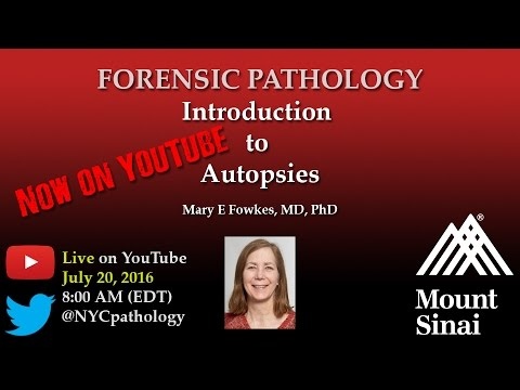 Forensic Pathology: Introduction to Autopsies