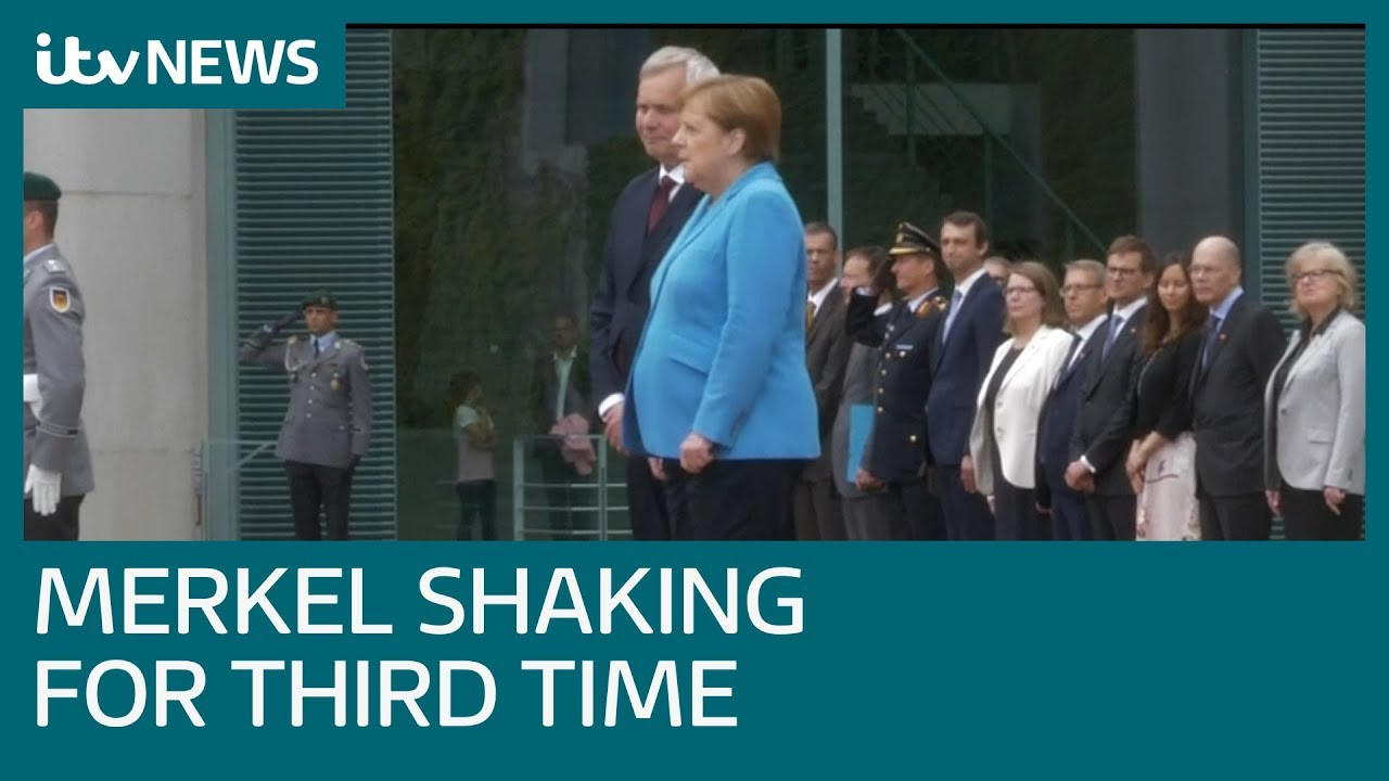 Image result for Merkel  shaking