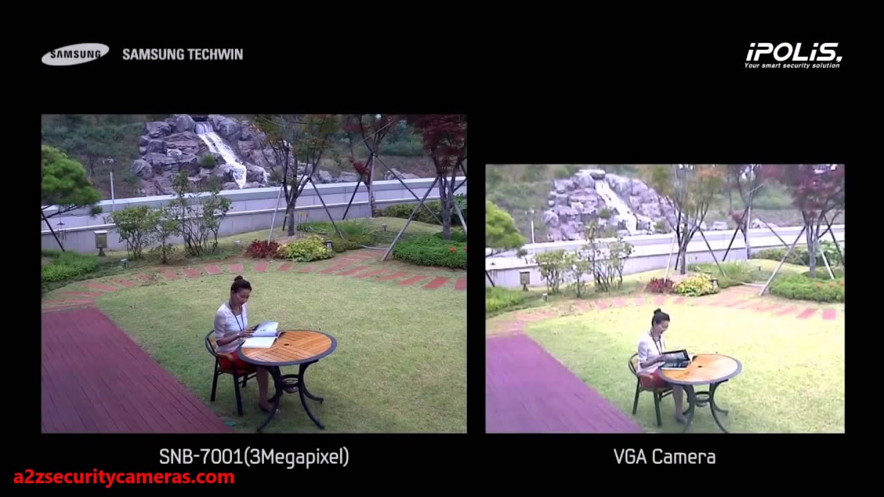 Samsung Techwin America 3 Megapixel Vs Vga Comparison