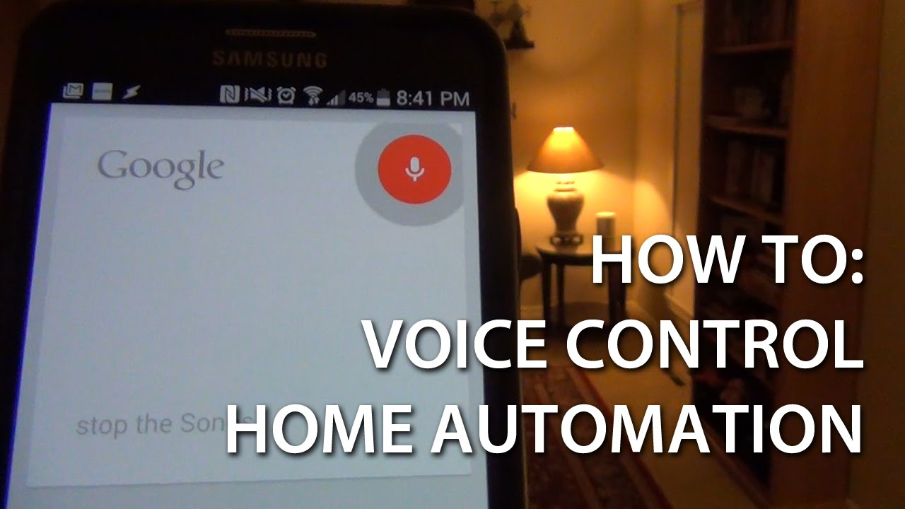 Best Home Automation Controller voice control of home automation with android (how to) - youtube