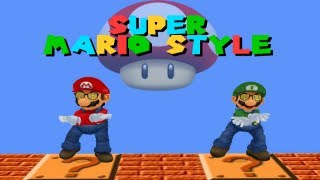 Repeat youtube video Super Mario Style (Mario Parody)