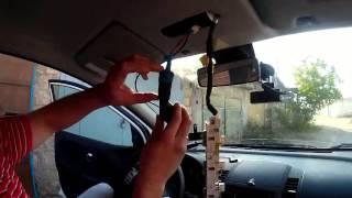 Как установить  видеорегистратор просто  и гениально