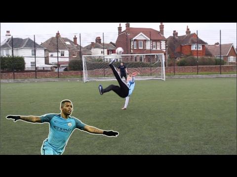 GABRIEL JESUS FOOTBALL CHALLENGES
