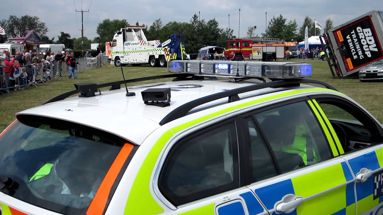 Road Traffic Accident Demonstration At Rescue Day, 2011