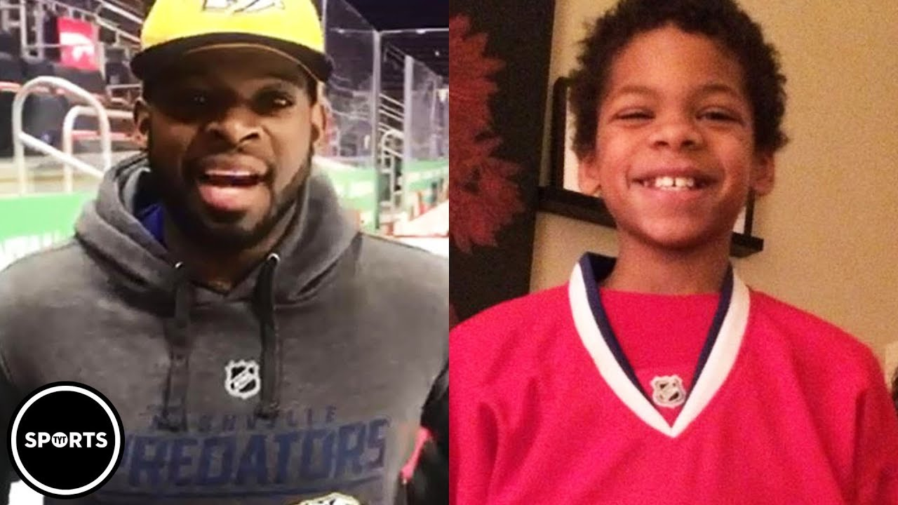 22ff042cb55e0 P.K. Subban s Powerful Message To Young Hockey Player - YouTube
