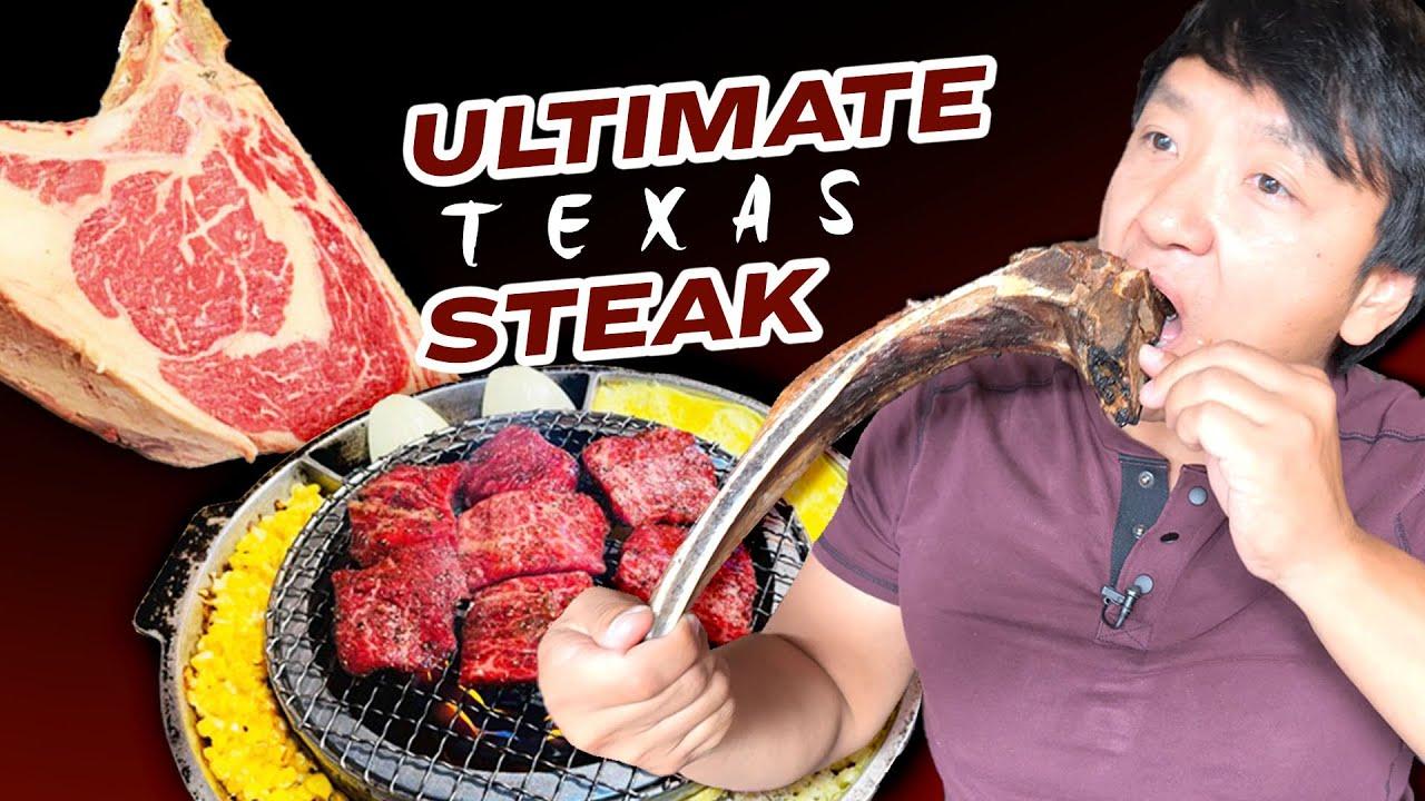 HIDDEN GEM TEXAS STEAK & Robot KOREAN BBQ BUFFET in Dallas Texas
