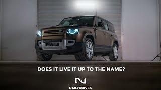 2020 Land Rover Defender P400 Review. Interior & Exterior in Depth