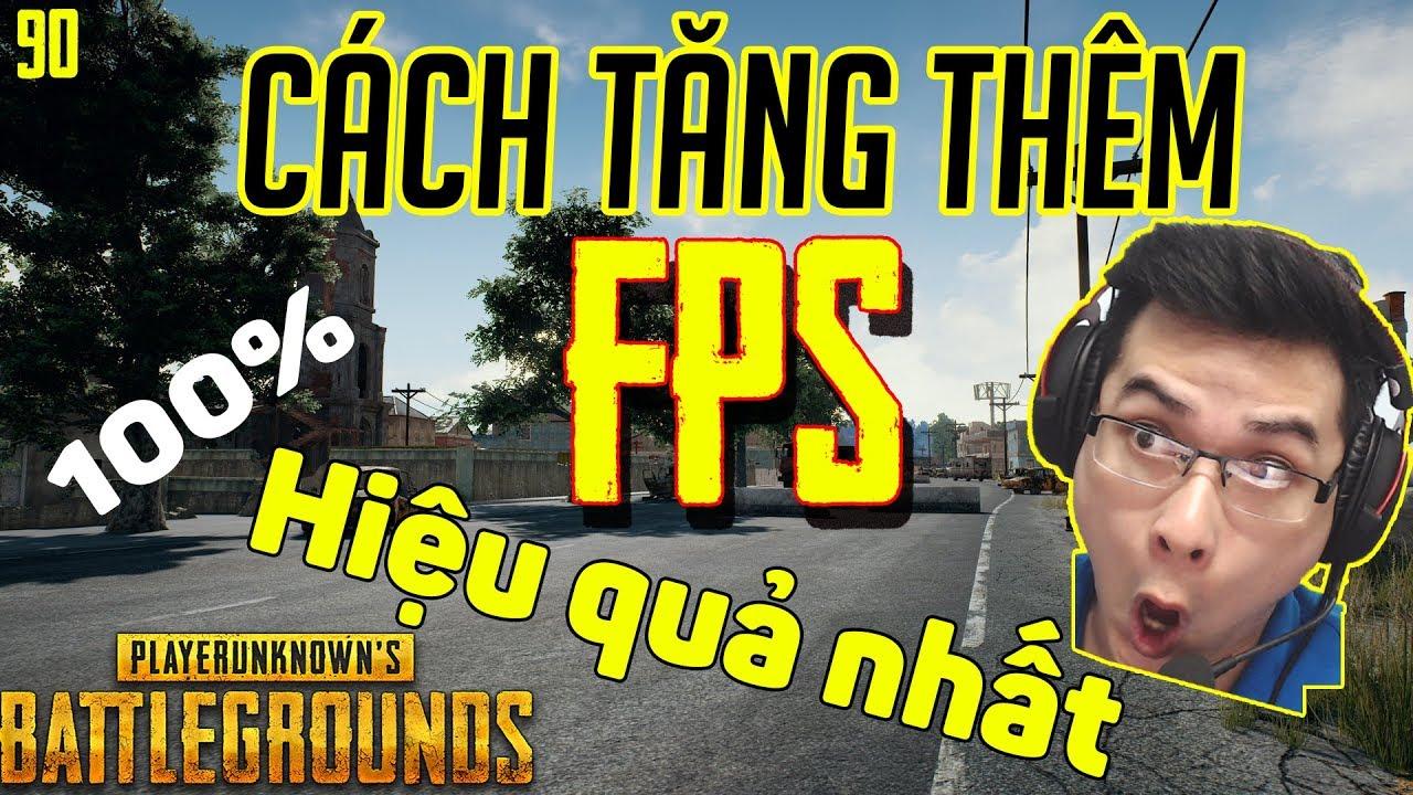 Cách tăng FPS khi chơi game PUBG hiệu quả nhất