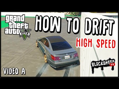 How To Drift At High Speed - NO MODS - Best Way (High Difficulty) - GTA 5 Online