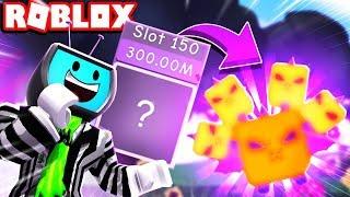 Sbloccare la slot 150 in THE CANDY LAND REWARDS! Idra alato gommoso! Roblox Bubble Gum Simulator