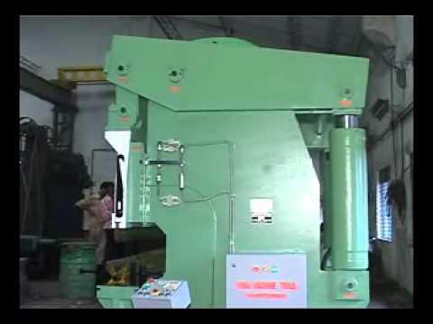 Hydraulic Press Brake Machine Vimal Machine Tools Youtube