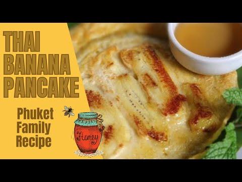 Banana Pancake Thai style, from Phuket