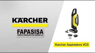 Aspiradora línea hogar VC 5 - Kärcher FAPASISA Paraguay