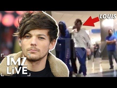 Louis Tomlinson: Crazy Airport Brawl | TMZ Live