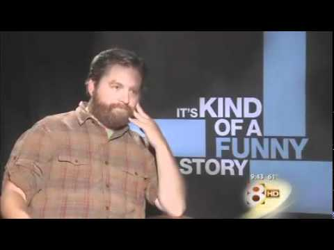 Zach Galifianakis Awkward Interview