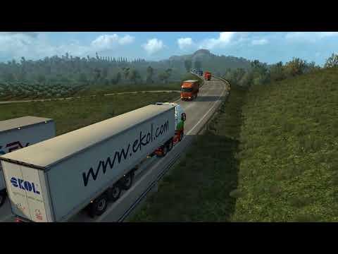 Bari to Naponi To a Farm (Italia DLC) With Arayas SuperTraffic 1.2