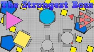 The Strongest BOSS | Diep.io testing | Diep.io