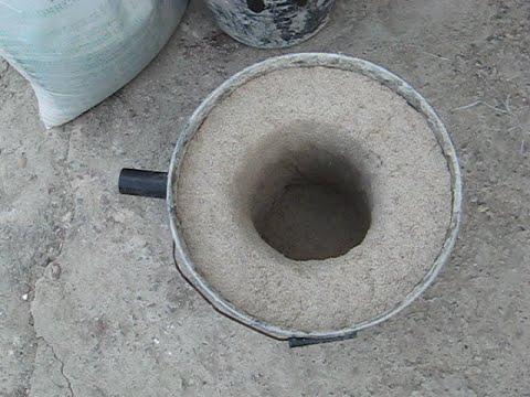 Самодельная печь для плавки цветных металлов в домашних условиях