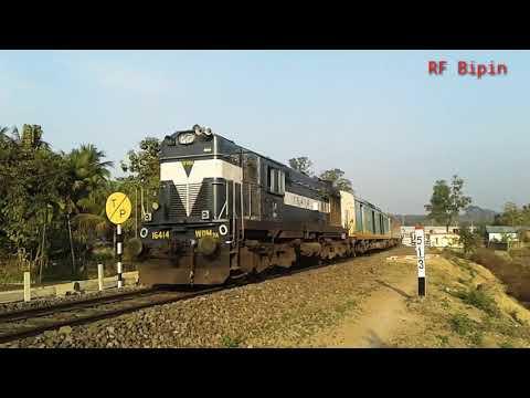 Silghat Town - Kolkata Kaziranga Express ( SHTT - KOAA ) With WDM3A#16414