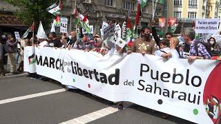 Partidos y manifestantes apoyan al pueblo saharaui y piden a España que actúe